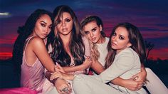 Little Mix are, from left, Leigh-Anne Pinnock, Jesy Nelson, Perrie Edwards and Jade Thirlwall. Jesy Nelson, Perrie Edwards, Little Mix 2016, Little Mix Girls, Mtv, Pop Bands, K Pop, Little Mix Glory Days, Meninas Do Little Mix