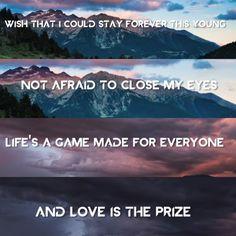 avicii wake me up (song lyrics)