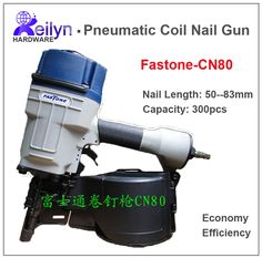 149.99$  Watch now - http://alinvj.worldwells.pw/go.php?t=2048343147 - FASTONE CN80 Industrial Pneumatic Coil Nail Gun Coil Nailer Air Nailer made in Taiwan, high quality standard