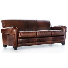 Tips That Help You Get The Best Leather Sofa Deal. Leather sofas and leather couch sets are available in a diversity of colors and styles. A leather couch is the ideal way to improve a space's design and th Leather Sofa And Loveseat, Best Leather Sofa, Sofa And Loveseat Set, Leather Club Chairs, Sofa Couch, Comfy Sofa, Leather Sofas, Paris Living Rooms, Living Room Sets