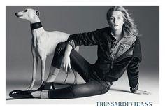 Toni Garrn Stars in the Trussardi Jeans & Tru Trussardi Fall 2012 Campaign