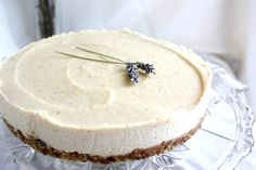 <p>Share this delicate and lovely vegan cheesecake with your loved ones and enjoy the tastes, textures, and simple happiness they all bring.</p>
