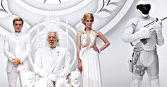 """The Mockingjay lives,"" proclaims Quarter Quell escapee Beetee, interrupting President Snow's address in the new 'Hunger Games: Mockingjay - Part 1' teaser."