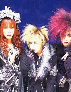 Shinya, Kyo, and Kaoru