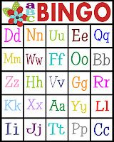 abc bingo cards!