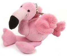 Flamingo Plush Keychain Stuffed Animal by Wild Republic