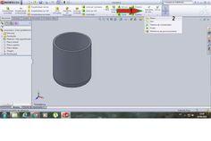 Extrude Plus: Como modelar  uma caneca no Solidworks 2010 - Part...