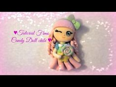 Candy chibi doll polymer clay tutorial