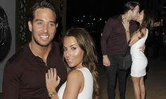 TOWIE's Yazmin Oukhellou puckers up to James Lock at birthday bash