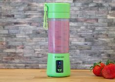 There's nothing better than the sweetness of a fresh berry. Enjoy this simple, quick, healthy and delicious snack any time! Nothing beats this basic Strawberry Blueberry Smoothie. Whip it up on the go any time with your BlendJet portable blender!
