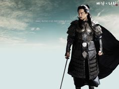 #KingdomOfTheWind Love that Song Il Gook played both King Daemusin in this drama and his grandfather King Chumo in #Jumong ♥