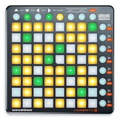 Ableton - Novation Launchpad S - USB MIDI Controller Label: Novation  Format: Mixer  £124.99 (£149.99 inc VAT)  Launchpad S is an update to the best-selling grid controller for Ableton Live: the Novation Launchpad. The 64 tri-colour pads can launch loops and clips, trigger drums and samples, and also control effects, volumes, mutes, solos and more.