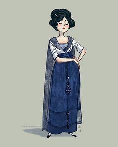 Evening dress c.1909 by Callot Sœurs - Vera Brosgol