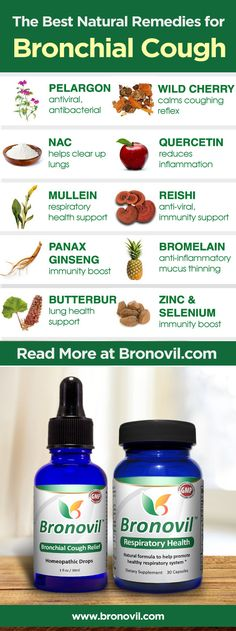 Bronovil Cough Treatment Set #healthytips #remedies #bronchitis