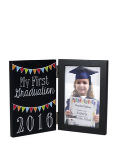"""4"""" x 6"""" First Graduation Picture Frame"""