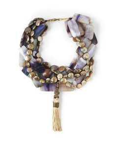 Gizem Gold Pearl Necklace
