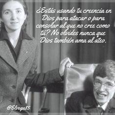 Un ateo amado por Dios. #VisitamiMuro #rpsp #DiosAmaAlAteo #DiosEsAmor #MeditacionesdeJóvenes