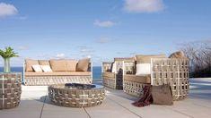 salon jardin design de la collection Strips de Skyline design furniture