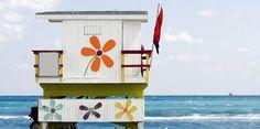 Lifeguard shack Miami