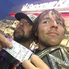 The Lunatic Fringe just got a Ticket into Te Smoothie King Center to see J & J Security vs. Seth Rollins, courtesy of a ticked sclalper. 6/8/15