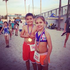 Push Away The Screen with Youth Triathlons!