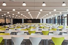 Canteen Office Canteen, Cafeteria Design, Office Furniture Design, Multipurpose Room, Lunch Room, Food Court, Break Room, Cafe Restaurant, Office Interiors