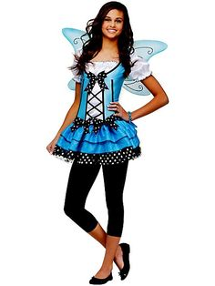 Blue Belle Fairy Costume For Teens or Girls! Fairy for Halloween?