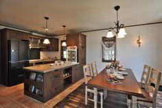 キッチンのデザイン:ダイニング&キッチン.*をご紹介。こちらでお気に入りのキッチンデザインを見つけて、自分だけの素敵な家を完成させましょう。