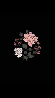 Iphone Wallpaper Smoke, Floral Wallpaper Iphone, Iphone Background Wallpaper, Butterfly Wallpaper, Dark Wallpaper, Tumblr Wallpaper, Nature Wallpaper, Black Aesthetic Wallpaper, Aesthetic Iphone Wallpaper