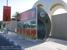 Air conditioned Bus Stop in Dubai. Outside inside Bus Shelters, Bus Stop, Dubai, The Outsiders, Urban