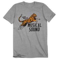 Velva Sheen x Musical Sound Tiger Shirt