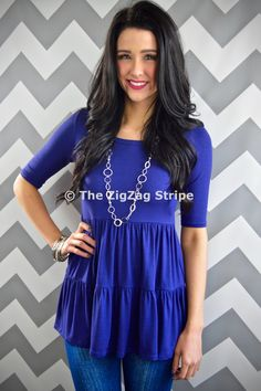 Navy Decker Top – The ZigZag Stripe. Save 10% with coupon code ZZS72, and shipping is free! zigzagstripe.com