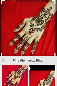 Made by my (meen contact al je ook henna wilt)😊