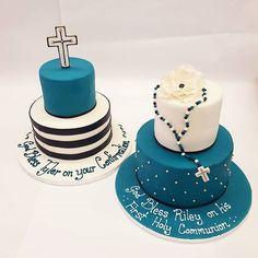 Some beautiful Communion and Confirmation cakes to make the day even more special!