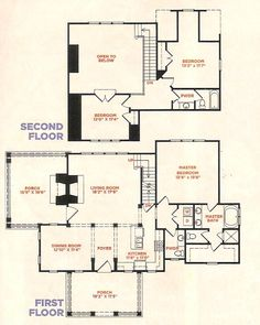Piedmont Cottage Floorplan Outdoor Porch Fireplace And Bread Oven Range Expand Living Room Combine Dining In One Turn