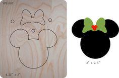 Znalezione obrazy dla zapytania głowa myszki miki z drewna