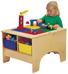 children craft table | Toddler Childrens Preschool School Classroom Furniture Baby Nursery ...