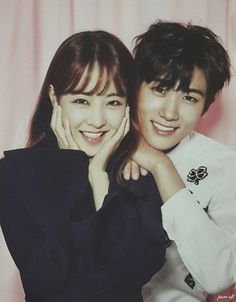 Park Bo Young and Park Hyung Sik in the drama Do Bong Soon Strong Girls, Strong Women, Ahn Min Hyuk, Oh My Ghostess, Strong Woman Do Bong Soon, Young Park, Park Bo Young And Park Hyung Sik, Park Seo Joon, Xiuchen