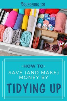 Save (and Make) Money By Tidying Up with Marie Kondo's KonMari Method! Informations About Save (and Make) Money By Tidying Up! Best Savings, Savings Plan, Saving Ideas, Money Saving Tips, Ways To Save Money, How To Make Money, Konmari Methode, Couponing 101, Frugal Living Tips