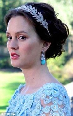 Blair Waldorf's wedding tiara look's like Lady Mary's...