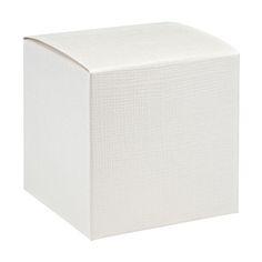 Geschenkkartons - 10 Geschenkschachteln Quadrat weiß - ein Designerstück von DerSchachtelShop bei DaWanda