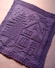 Free pattern. A Christmas Dishcloth