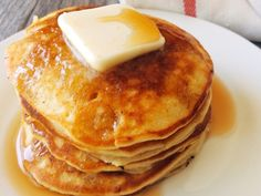 Amazing Melt in Your Mouth Sweet Cream Pancakes is the best pancake recipe around and will be the only pancake recipe you'll ever need! Sweet and dreamy! Sweet Cream Pancakes Recipe, Best Pancake Recipe, Pancake Recipes, Bread Recipes, Pancake Toppings, Cheesecake Toppings, Cheesecake Pancakes, Ricotta Pancakes, Cheesecake Bites