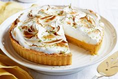 For the perfect afternoon delight, try this tangy lemon and lime meringue tart by Curtis Stone.