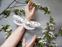 Papercut artwork paper cut art Butterfly original by ArtHeartsShop