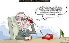 Charge de opinião do Dum sobre as vaias da torcida brasileira e a opinião de #SergioMoro e #MichelTemer (20/08/2016). #Charge #Dum #Temer #Moro #Política #Olimpíada #Rio2016 #RyanLochte #HojeEmDia