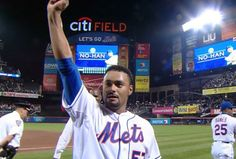 Congrats to Johan Santana for pitching the first no hitter in Mets history!