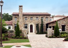 Stunning Tuscan Abode - 42814MJ | European, Mediterranean, Tuscan, Luxury, Photo Gallery, 1st Floor Master Suite, Butler Walk-in Pantry, CAD Available, Den-Office-Library-Study, Media-Game-Home Theater, PDF, Split Bedrooms, Corner Lot | Architectural Designs