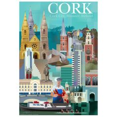 Image of Poster of Ireland. Cork city