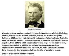 John Berry (1800-1856)